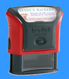 Todat Self Inking Rubber Stamp