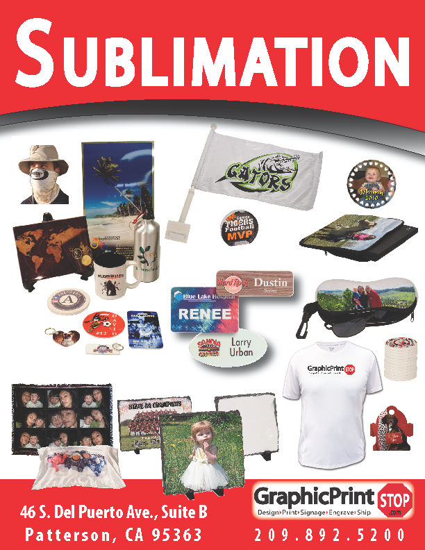 Sublimation @ Graphic Print Stop